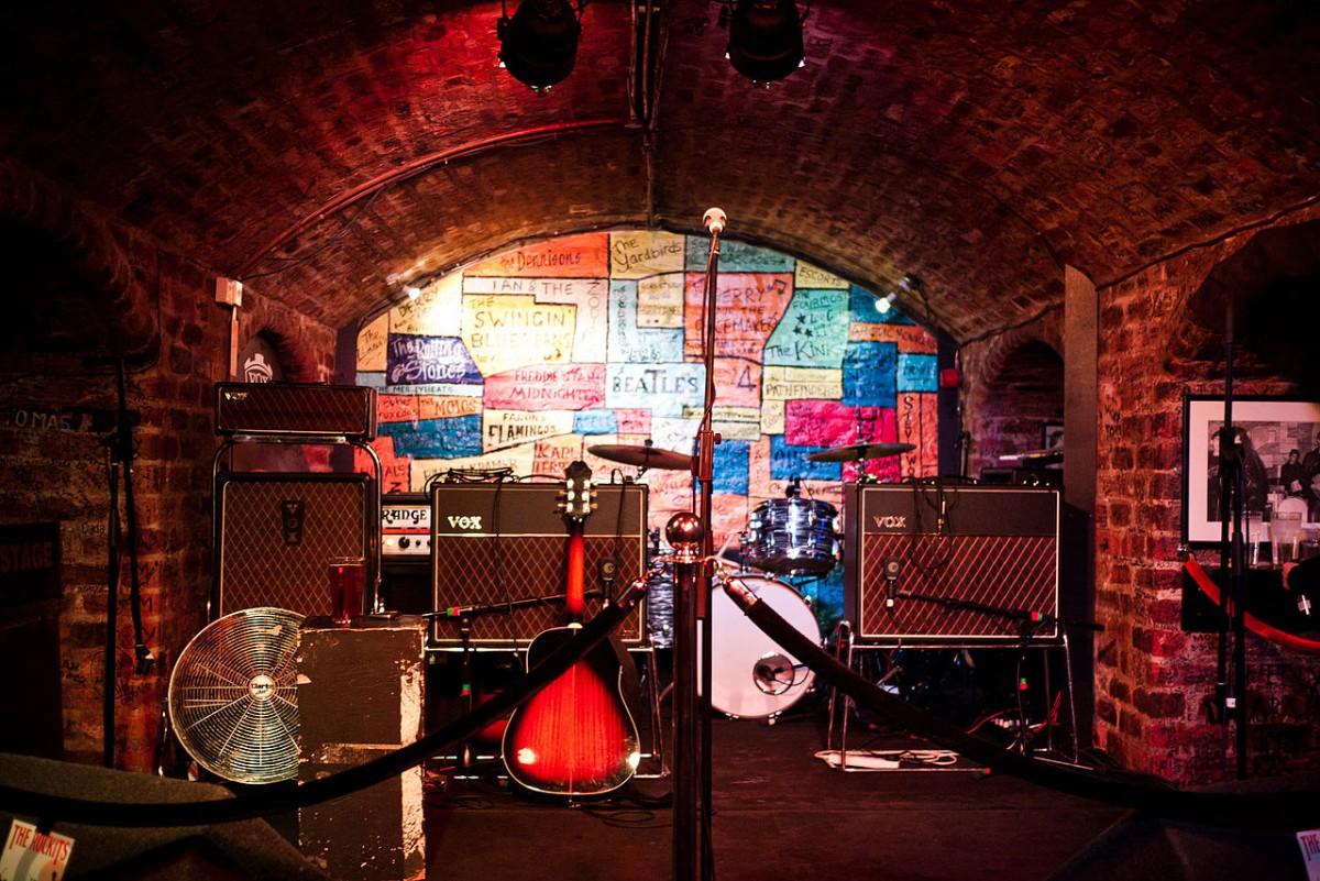 Klub Cavern, Liverpool Matthew St.