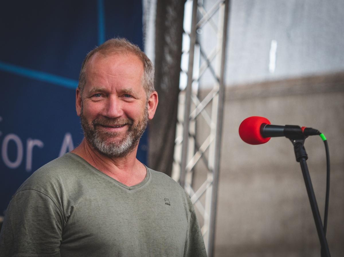 David Koller na Festiwallu, foto Jan Nožička