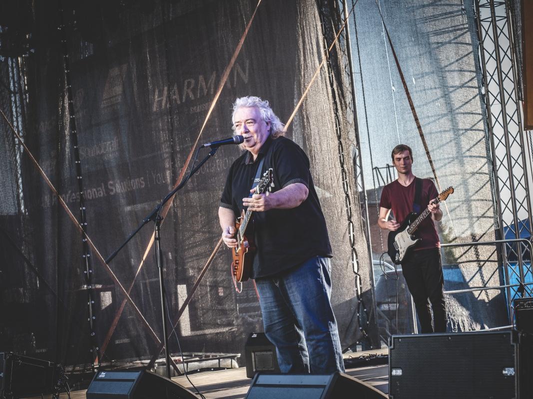 Bernie Marsden na Festiwallu, foto: Jan Nožička
