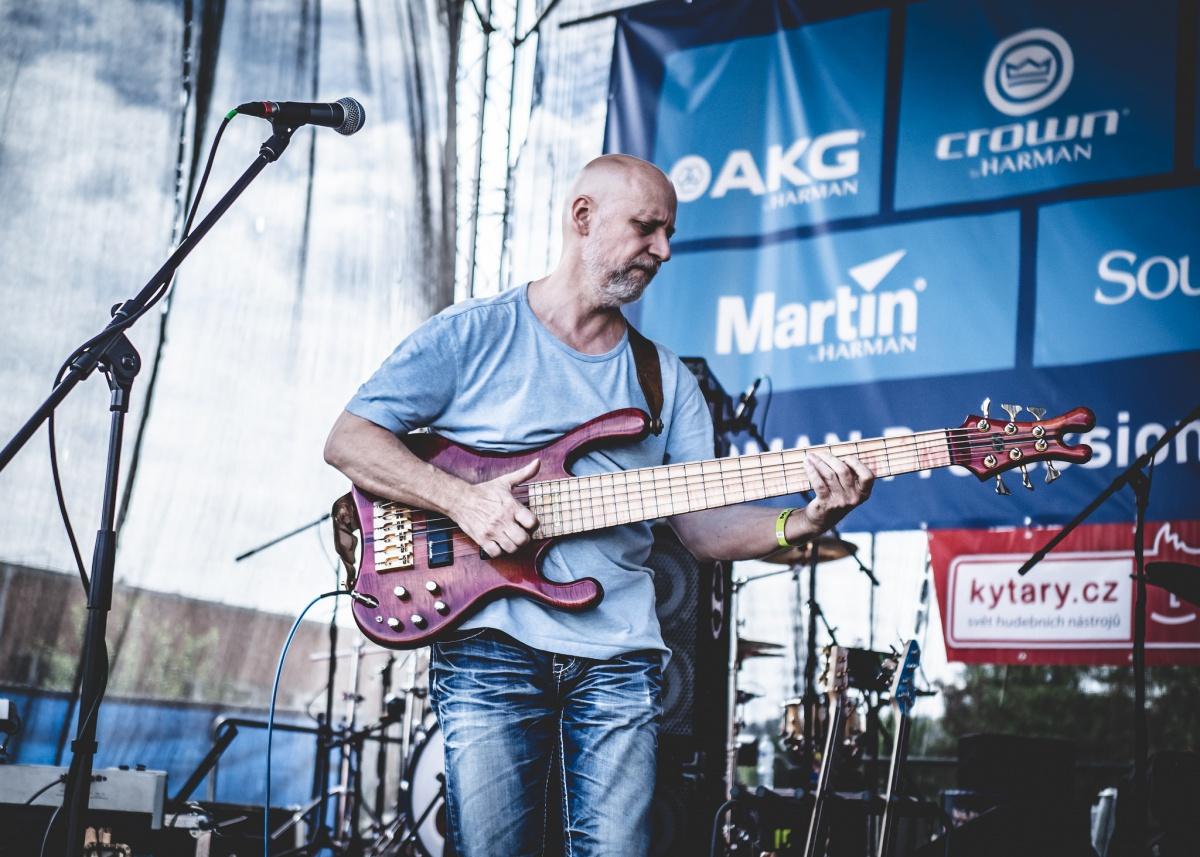 Richard Scheufler na Festiwallu, foto: Jan Nožička