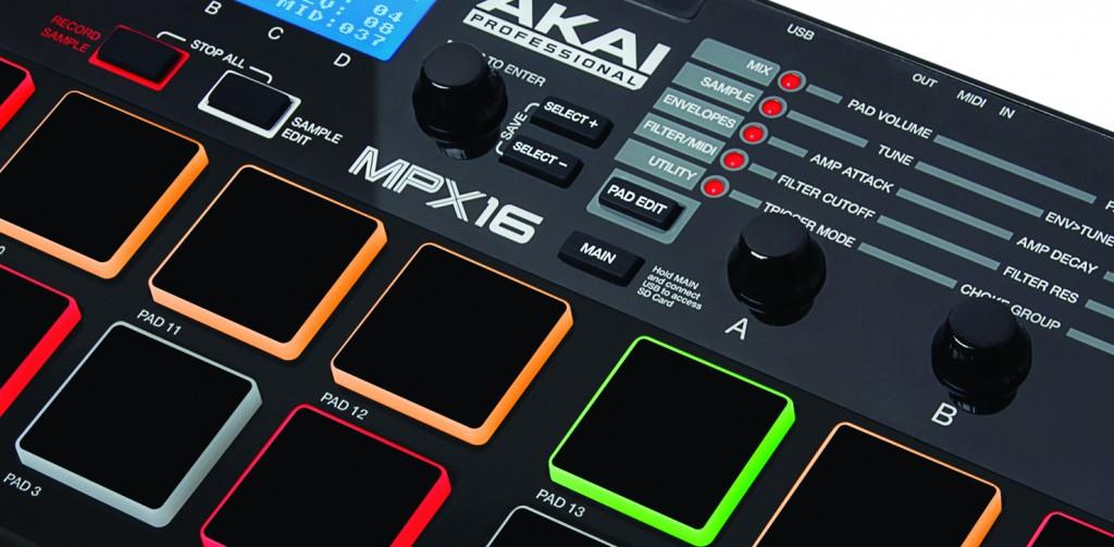 Akai MPX 16