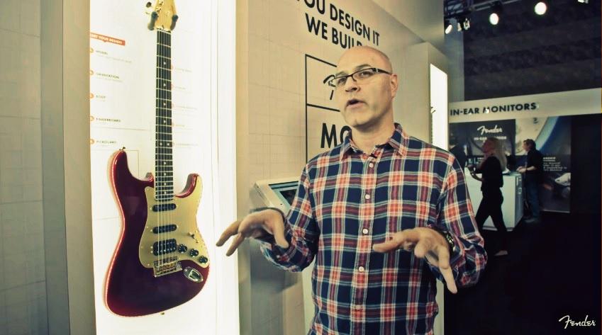 Allen Abbassi, vývojář nové řady Fender American Professional