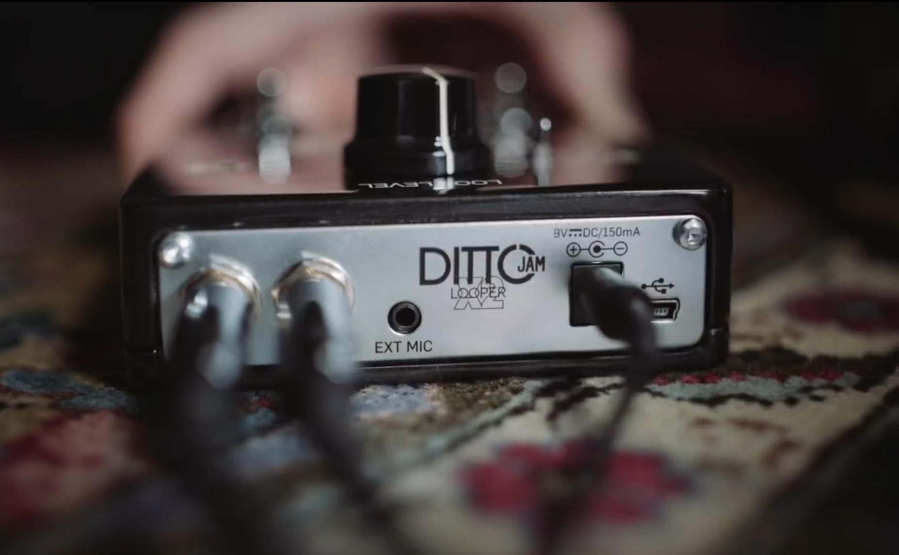 Ditto Jam X2 Looper, zdroj: YouTube