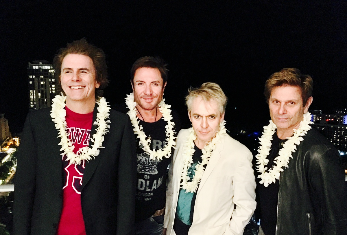 Duran Duran na Havaji, foto: archiv kapely
