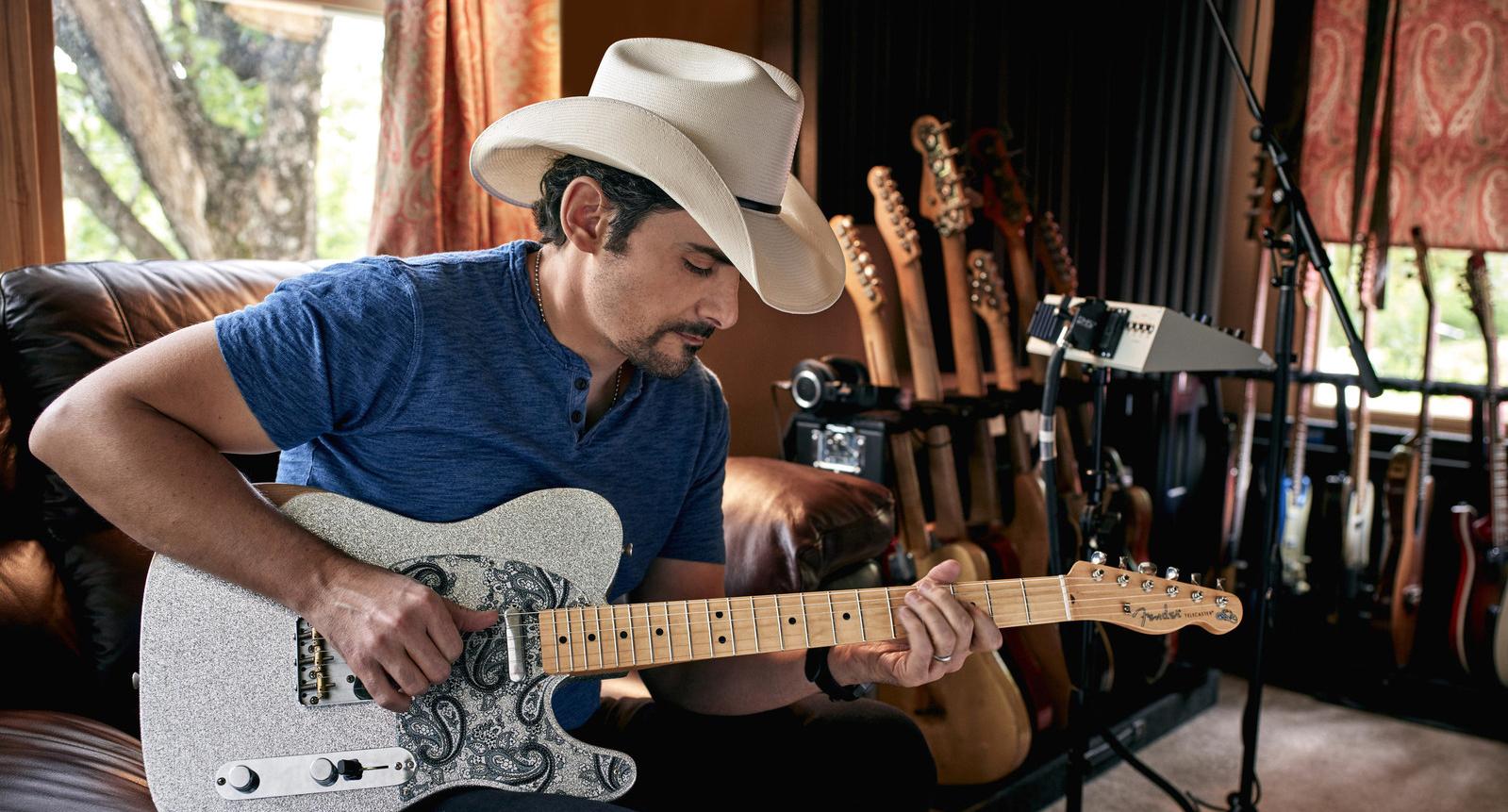 Brad Paisley, foto: Fender