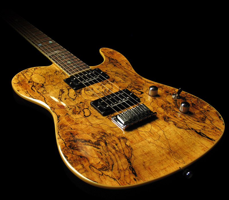 Fender Telecaster Custom Shop Spalted Maple