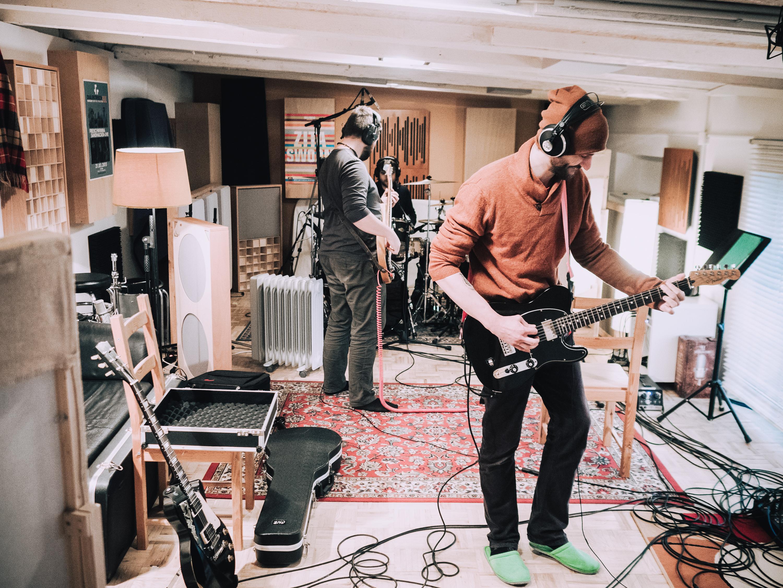 Sækədʒəwiːə ve studiu, foto: archív kapely