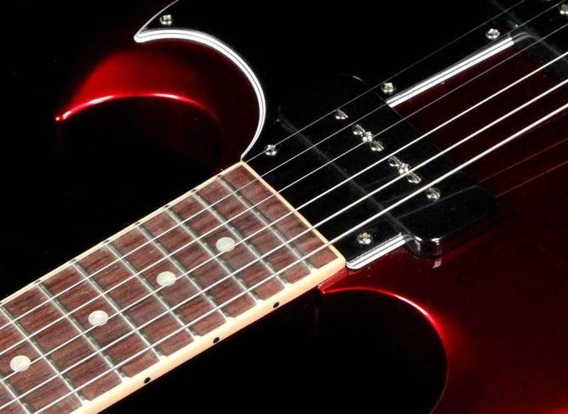 Gibson SG Special 2019 se snímači P-90 | Frontman cz