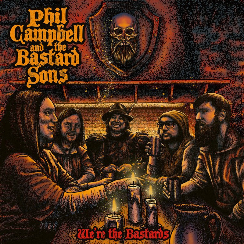 Phil Campbell & The Bastard Sons - We´re The Bastards