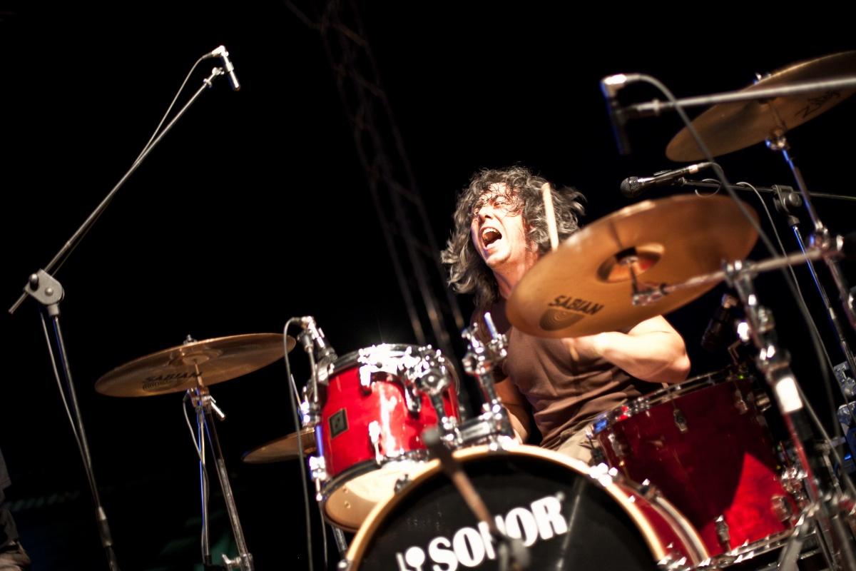 Jako začínající kapela musíte zastat skoro všechno, foto: Jakub Hemala