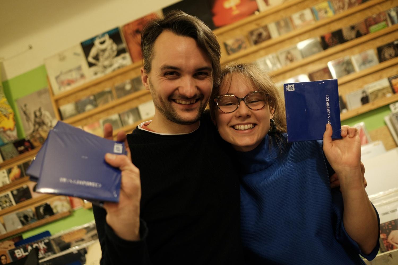 Aleš Pilgr a Štěpánka Todorová z YM, foto: Jan Šindler