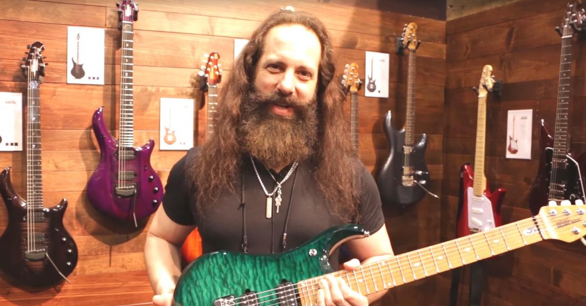 John Petrucci, zdroj: YouTube
