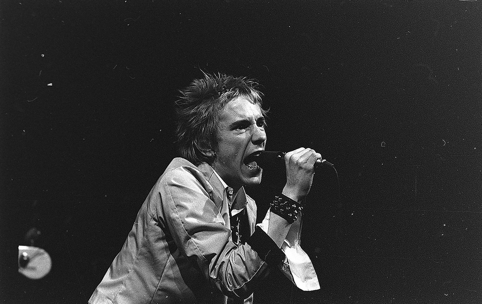 Johnny Rotten v roce 1977, foto: Billedbladet NÅ/Arne S. Nielsen