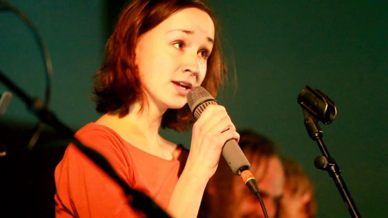 Marie Puttnerová jako host kapely Ladě