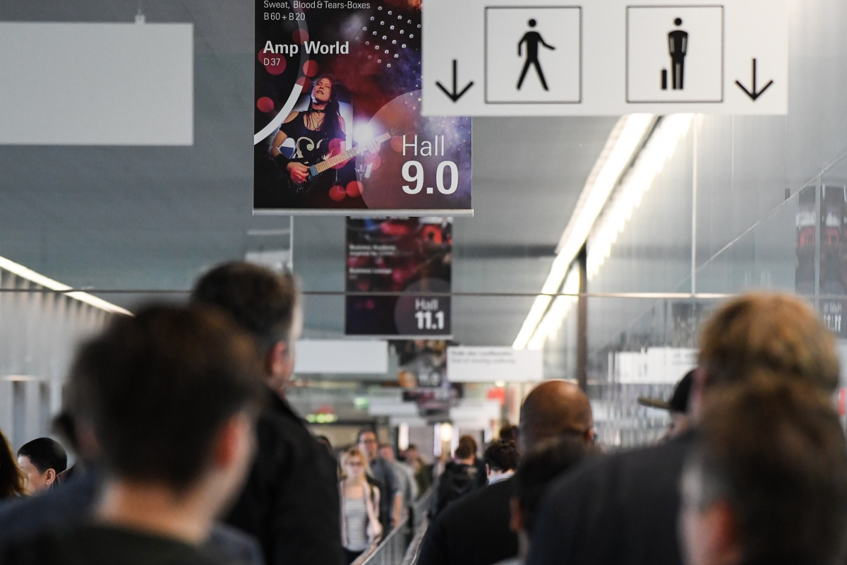Musikmesse 2018, foto: Musikmesse