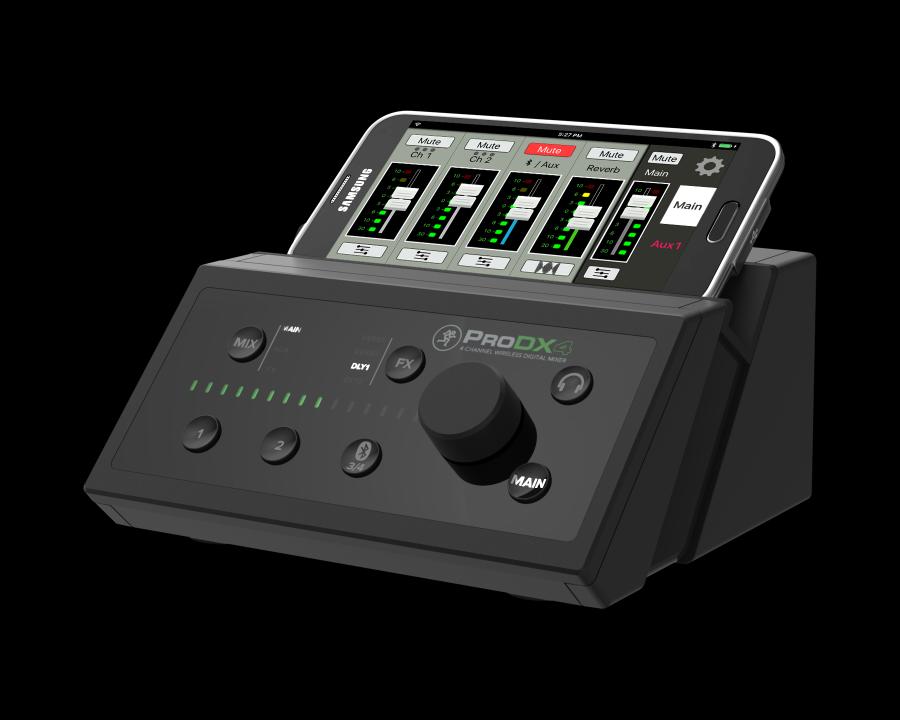 MACKIE ProDX4: revolučními mixpulty s digitálním rozhraním Bluetooth
