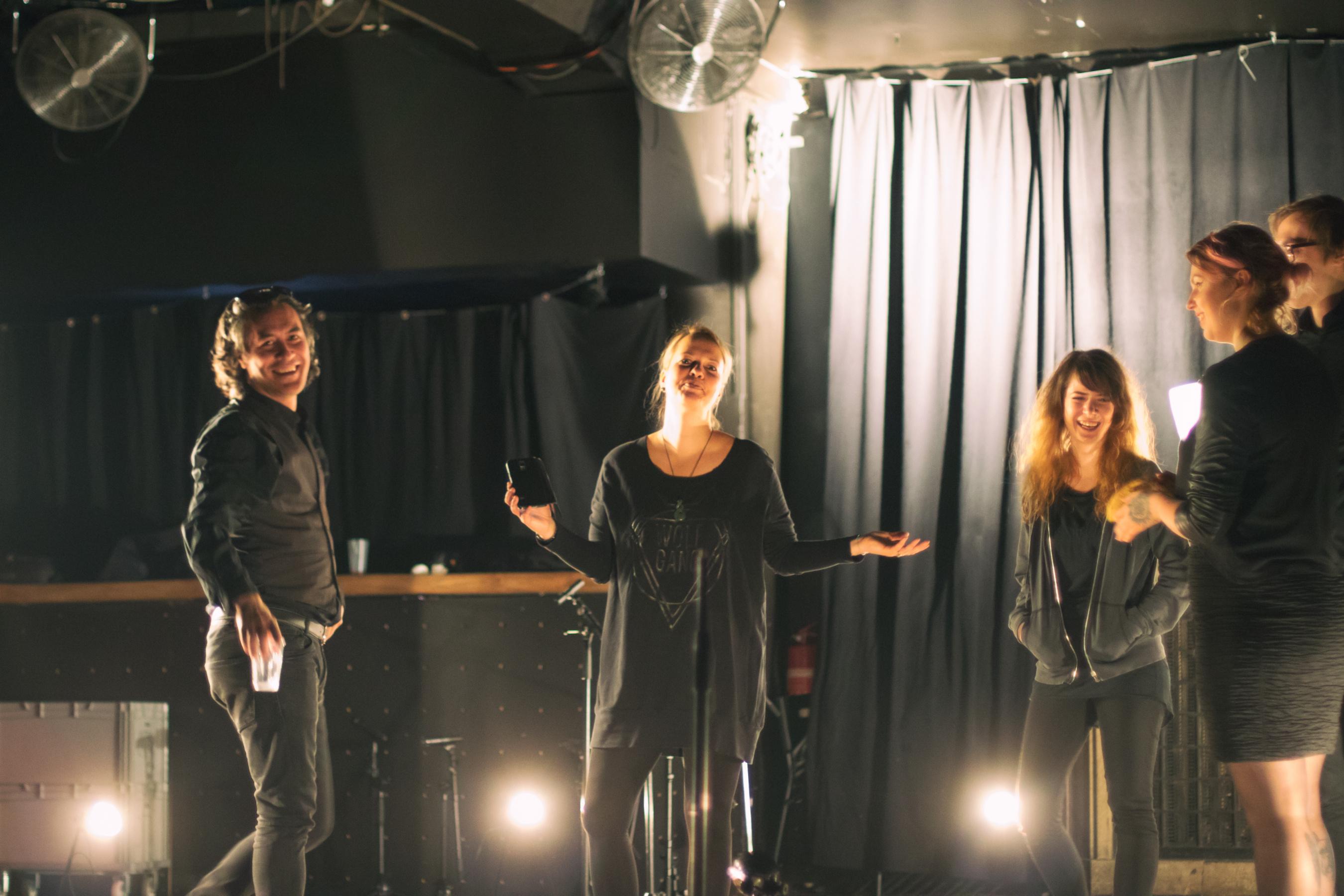 Tvůrčí tým nových live sessions, foto: Jan Vrba