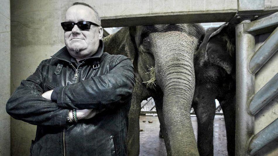 Jan Kalina a slonice Gulab