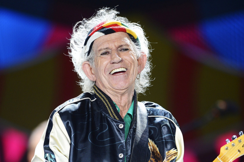 Keith Richards, foto: stounivkinech.cz