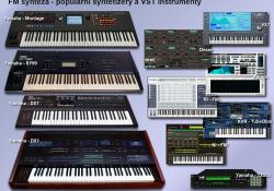 populární FM syntetizéry a VST pluginy