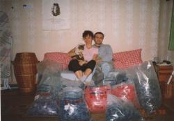 John Lennon, kocour Mikeš, budoucí manželé Janíčkovi a 250 000 trsátek BRAIN pro první velkou zakázku do USA (pro firmu Snarling Dogs Charlieho Stringera; 1998)