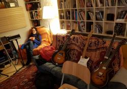 V parádním studiu All Senses bří Škochů natáčíme s Veronikou Wildovou