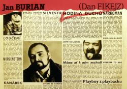 Debut Jana Buriana z roku 1989