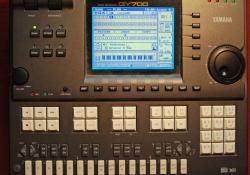 Externý sekvencer so zvukovým modulom Yamaha