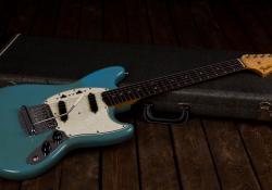 Fender 1966 Mustanf Daphne Blue