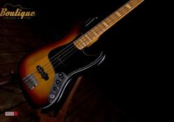 FERNANDES 1977 Stone Logo Jazz Bass