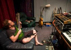 Mark Hosking (Karnivool), foto: Kane Hibberd