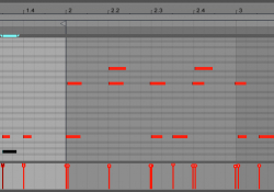 Zapsaná MIDI data