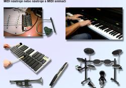 MIDI nástroje