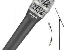 Cenovo dostupný vokálny live kondenzátor Samson C05CL