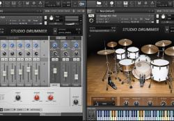 Kontakt 5 a knihovna Studio Drummer