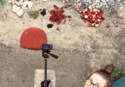 Z natáčení klipu Ať, foto: Jiřina Šmídová