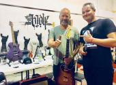 Na Festiwallu s Davidem Kollerem, zdroj: Facebook The Wolf Guitars