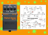 Diagram BOSS Metalzone MT-2
