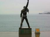 Socha Freddieho Mercuryho v Montreux od Ireny Sedlecké, zdroj: Wikipedia