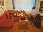 U mě doma v obýváku