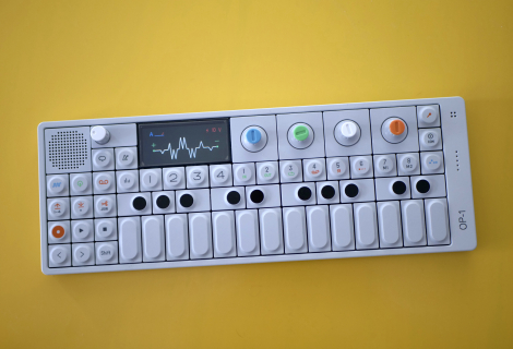Teenage Engineering OP-1 (foto Dušan Krejdl)