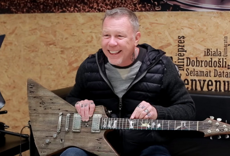 James Hetfield, zdroj: YouTube