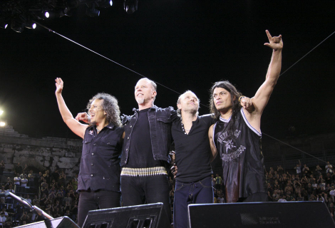 Metallica v Nimes, foto: BEVERLY MATOUS DISTRIBUTION