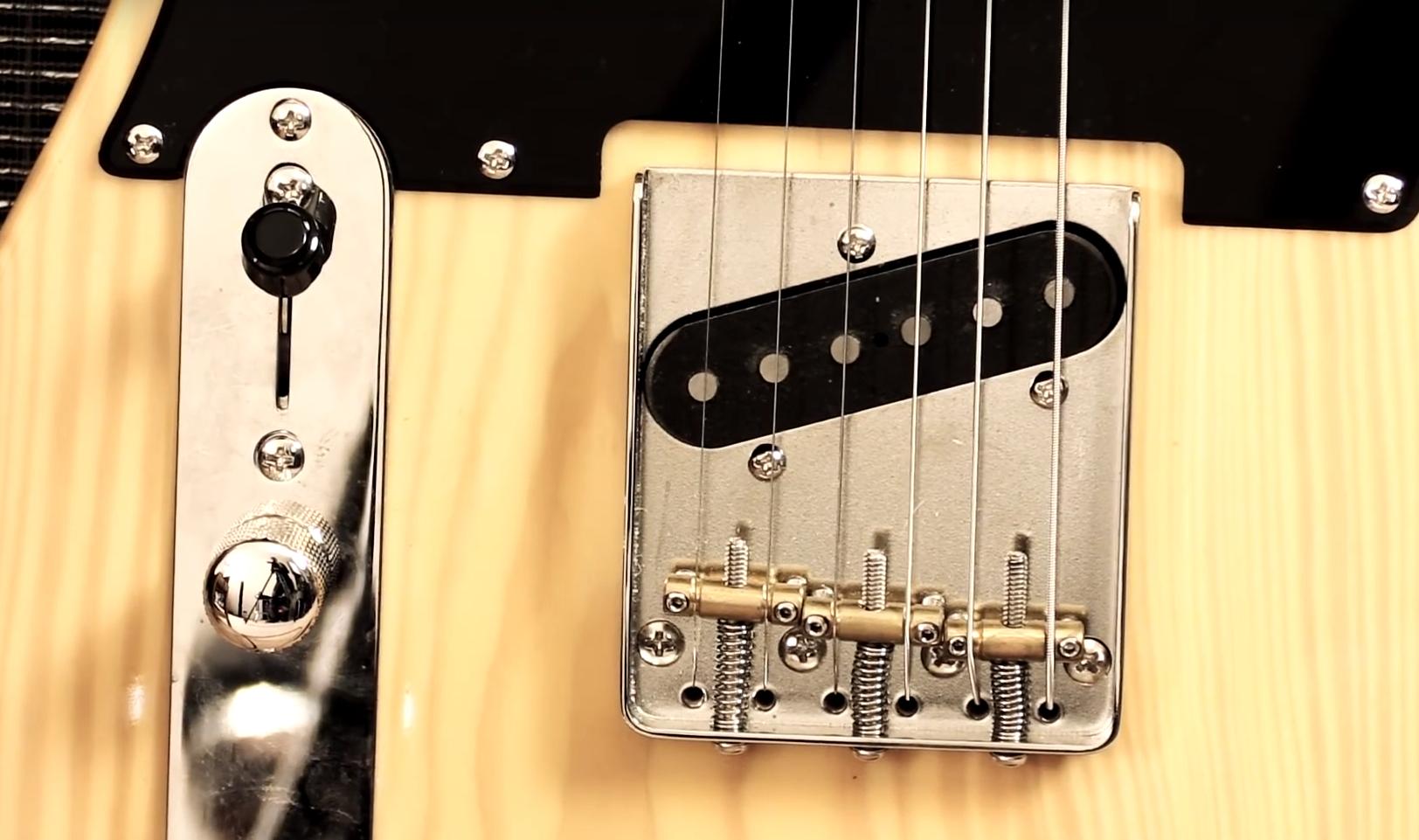 Fender Squier Classic Vibe Telecaster 50's MN BB, zdroj: YouTube