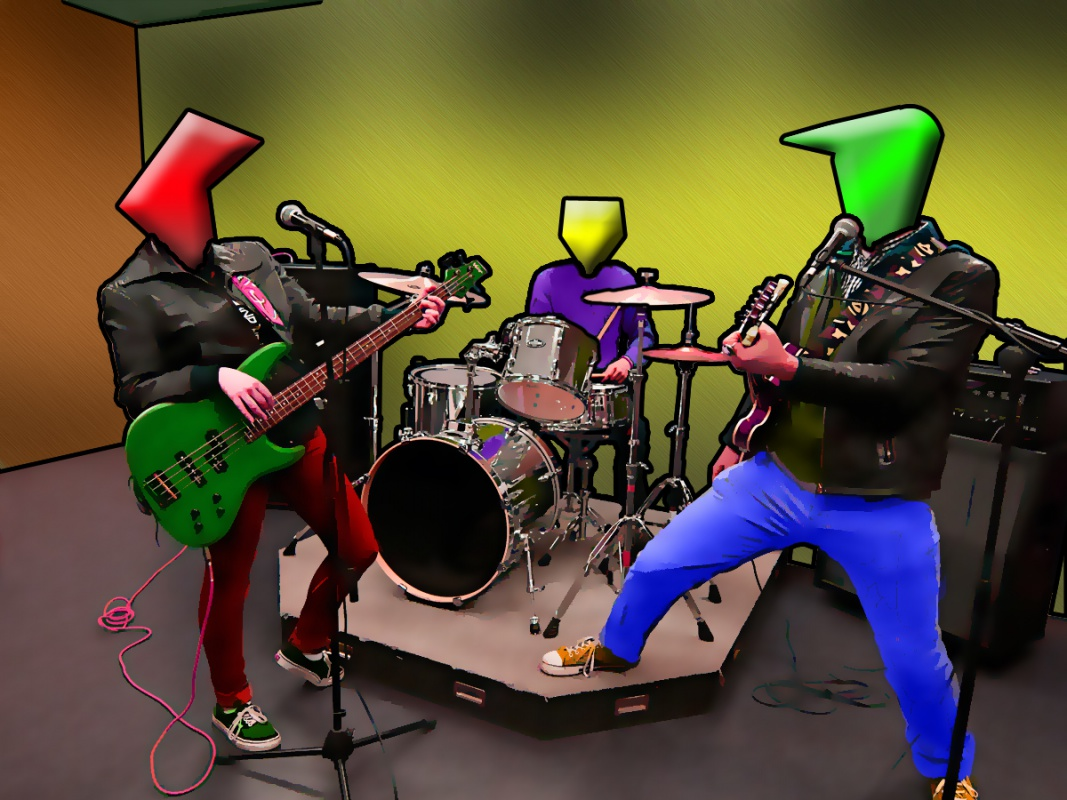 Zkouška kapely