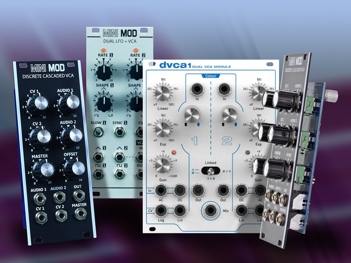VCA - ovládáme hlasitost